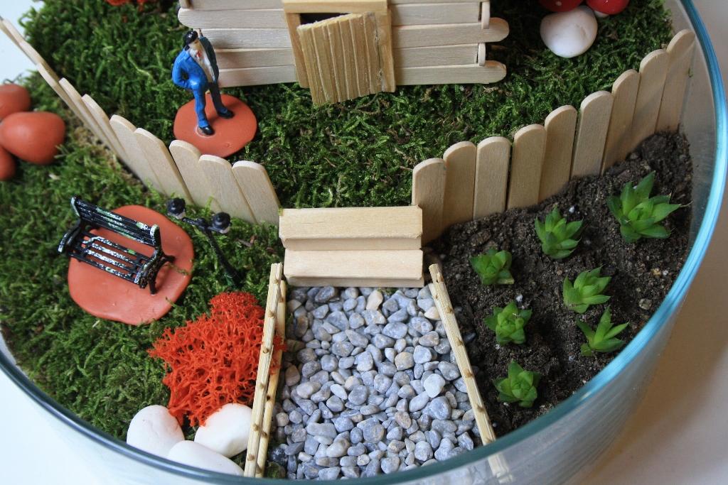 Minyatür Bahçeler Bir çiftlik Hayali Kur Minyatür Bahçe Hayali Kur
