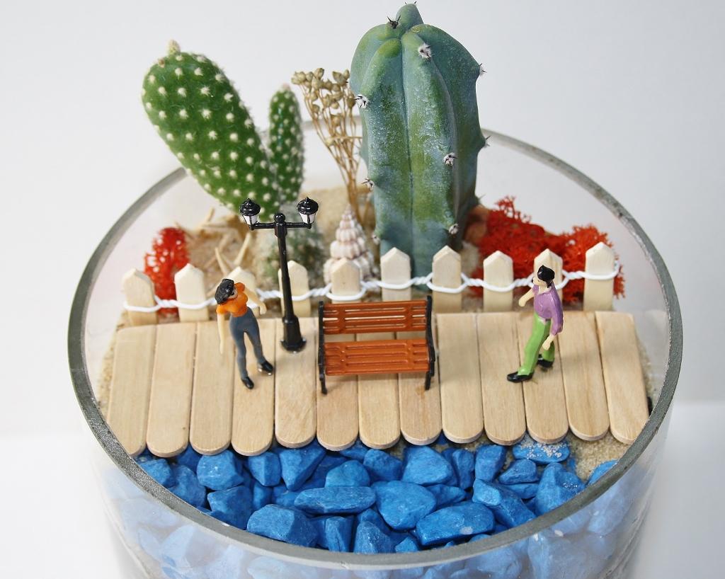 Minyatür Bahçe Deniz Kenarında Buluşalım Minyatür Bahçe Hayali Kur